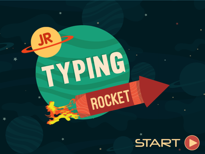 Typing Rocket Jr